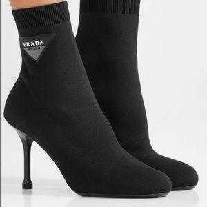 Prada knit boots